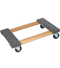 Monster Trucks Wood Carpeted Dolly