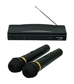 QFX 2pk Wireless Dynamic Microphone System