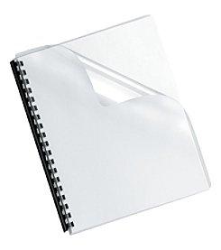 Fellowes Crystals Transparent  Binding Cover