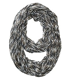 Steve Madden Space Dyed Mini Fishnet Infinity Scarf