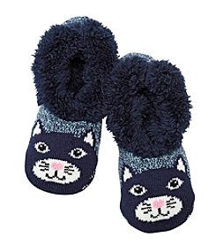 Fuzzy Babba® Cat Critter Slippers