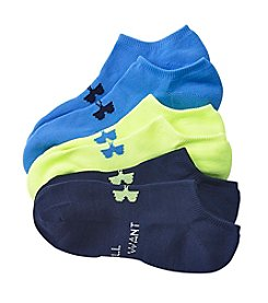 Under Armour® Women's 3-Pack No Show Socks