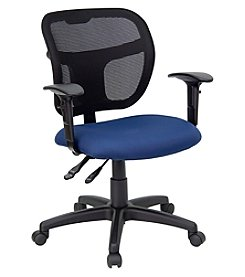Flash Furniture Mid Back Mesh Swivel Task Chair with Adjustable Arms