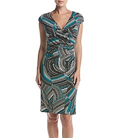 Kasper® Zig Zag Swirl Dress