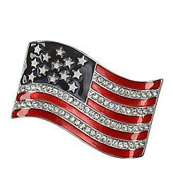 Napier® Boxed American Flag Pin