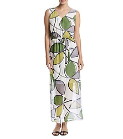 Nine West® Printed Maxi Dress