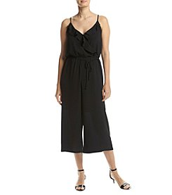 NY Collection Spaghetti Strap Jumpsuit