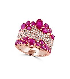 Effy® Amore Collection 4.46 Ct. T.W. Ruby 1.12 Ct. T.W. Diamond Ring
