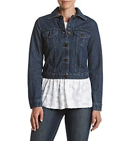 MICHAEL Michael Kors® Rinse Wash Denim Jacket