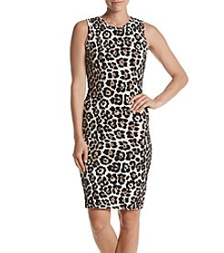 MICHAEL Michael Kors® Animal Print Sheath Dress