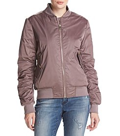 Calvin Klein Ruched Back Bomber Jacket