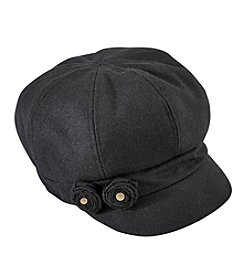 August Hats Newsboy Flower Hat