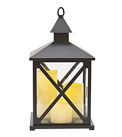 Elements Three LED Candle Lantern