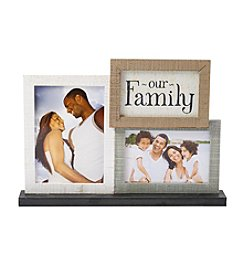 Farmhouse 3-Piece Our Family Tabletop Collage