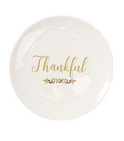 Living Quarters Harvest Thankful Plate
