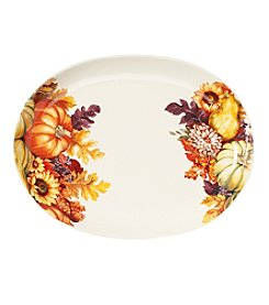 Living Quarters Harvest Oval Platter