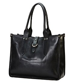 Frye® Amy Black Leather Shopper