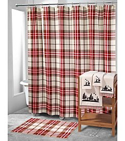 Avanti ® Hunter Plaid Bathroom Collection