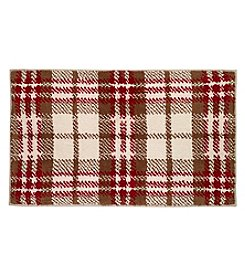 Avanti® Hunter Plaid Collection Bath Rug