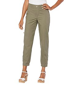 Rafaella® Petites' Stretch Ripstop Pants
