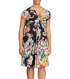 Lauren Ralph Lauren® Plus Size Floral-Print Dress