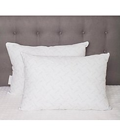 Pegasus Home Fashions 2-Pack of Waterford Marquis Logo Pillows