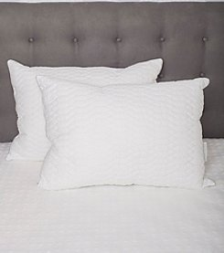 Pegasus Home Fashions 2-Pack of Waterford Marquis Raindrop Design Pillows
