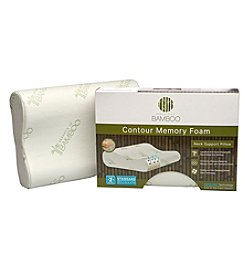Pegasus Home Fashions Essence of Bamboo Contour Memory Foam Pillow
