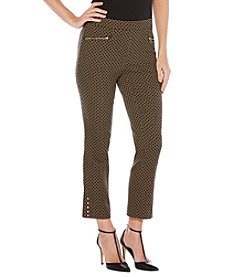Rafaella® Diamond Jacquard Pants