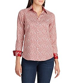 Chaps® Non-Iron Floral Cotton Shirt