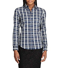 Chaps® Plaid Cotton Shirt