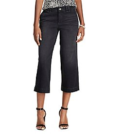 Chaps® Stretch Denim Cropped Trouser