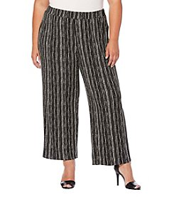 Rafaella® Plus Size Vertical Ity Pants