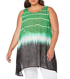 Rafaella® Plus Size Printed Tunic