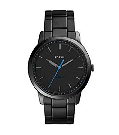Fossil® The Minimalist Slim Three-Hand Stainless Steel Watch