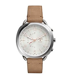Fossil® Hybrid Smart Watch - Q Accomplice Sand Leather