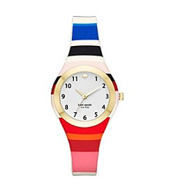 Kate Spade® Rumsey Multicolor Silicone Strap Watch