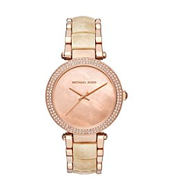 Michael Kors® Parker Acetate Three-Hand Watch