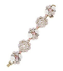 Betsey Johnson® Flower Cluster Bracelet