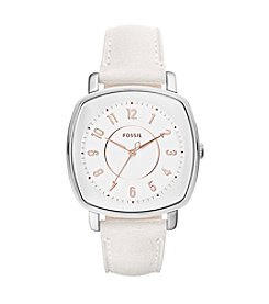 Fossil® Idealist Three-Hand Leather Watch