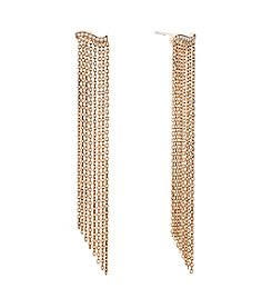 Michael Kors® Wonderlust Statement Chain-Fringe Chandelier Earrings