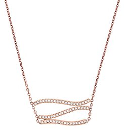 Michael Kors® Wonderlust Pave Pendant Necklace