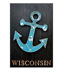 Second Nature by Hand Wisconsin Anchor Magnet