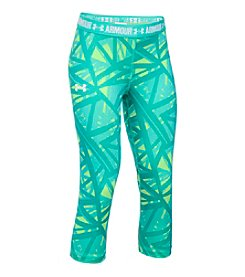 Under Armour® Girls' 4-6X HeatGear® Printed Capris
