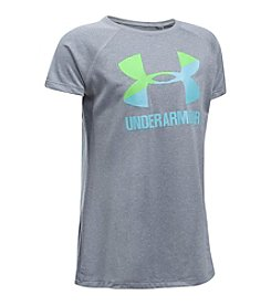 Under Armour® Girls' 4-6X Short Sleeve Big Logo Tee