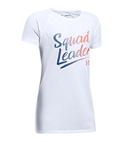 Under Armour® Girls' 4-6X Short Sleeve Squad Leader Tee