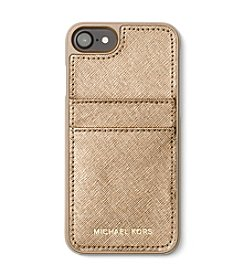 MICHAEL Michael Kors® Metallic Leather Protective Cover for iPhone 7