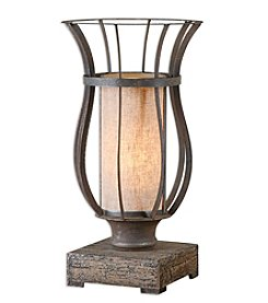 Uttermost Minozzo Bronze Accent Lamp