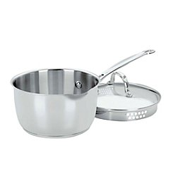 Cuisinart® Chef's Classic Stainless 2-Qt. Covered Pour Saucepan