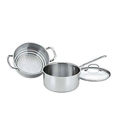 Cuisinart® Chef's Classic Stainless Steamer Set